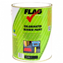 Flag Chlorinated Rubber Line Marking Paint